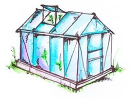 Kasvuhoone ja taimede ettekasvatamine
