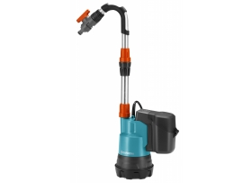 Vihmaveepaagi pump 2000/2 Li-18 aku ja laadija koplektis, Gardena