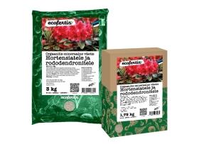 Orgaanilis – mineraalne väetis hortensiatele ja rododendronitele 4k g