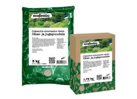 Orgaanilis – mineraalne väetis okas- ja jugapuudele 7,5 kg