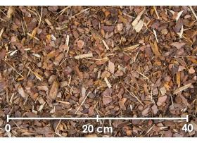 Männikooremultš 0-15 mm, 1/2 alus (18 kotti/1,25 m³)